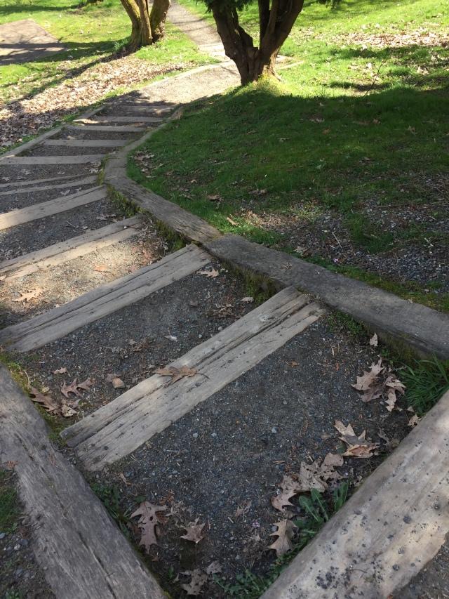 corner steps