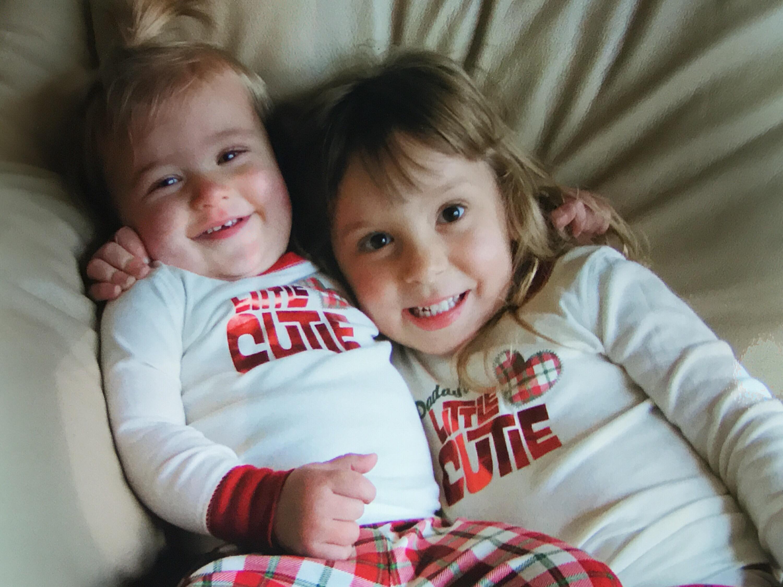 Abby and MIkayla jammies