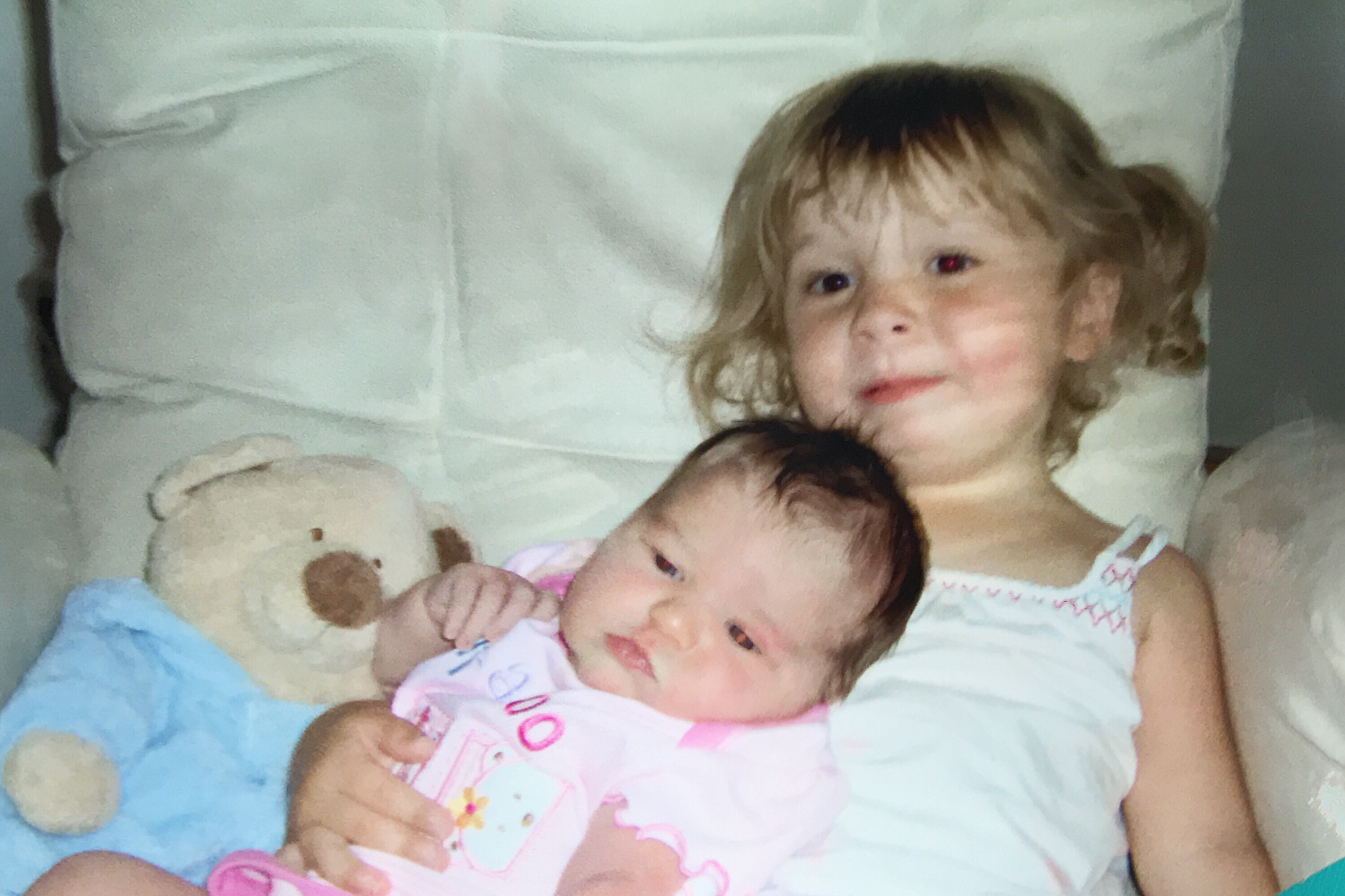 Mikayla and Abby first pic