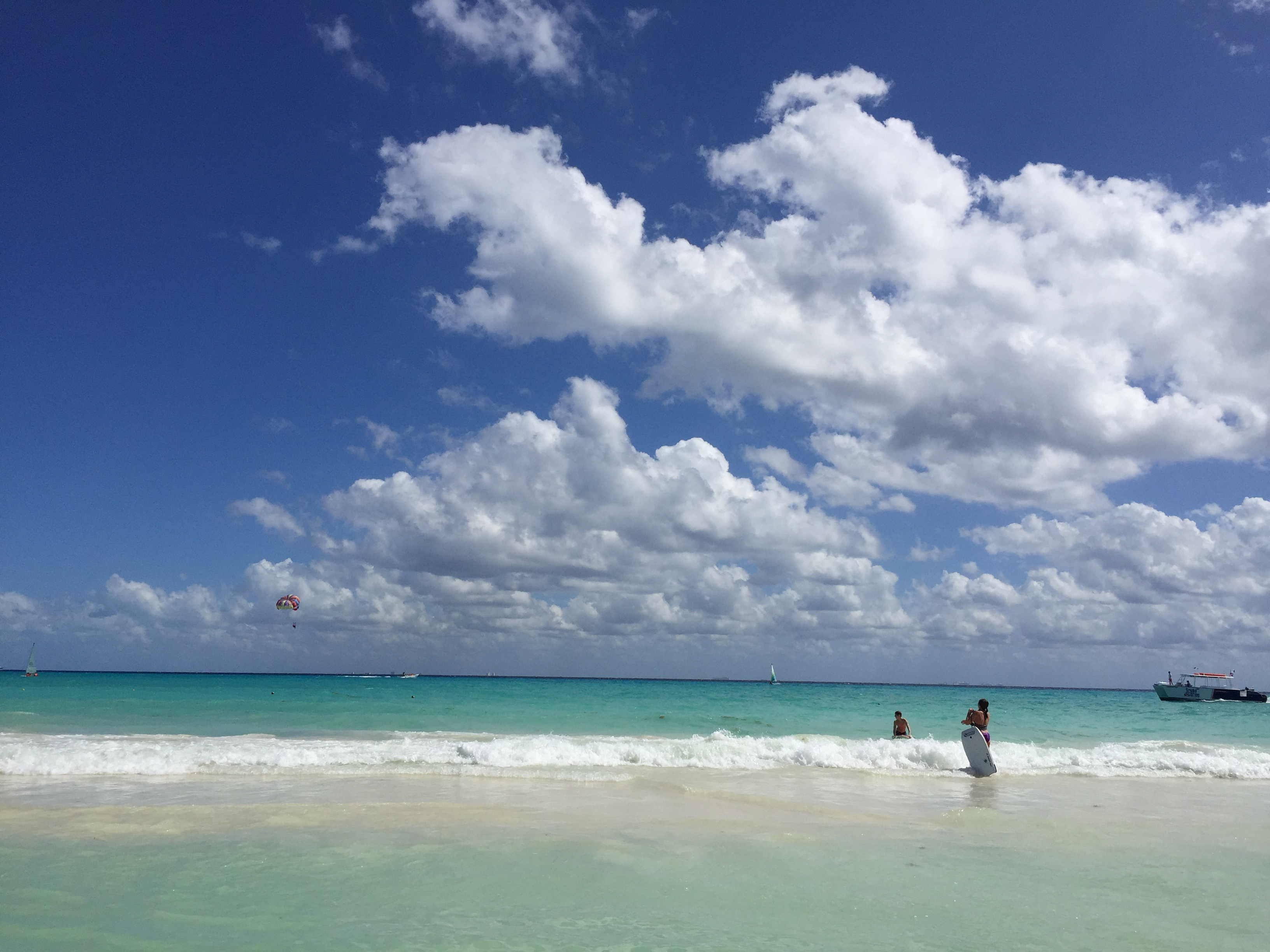 sky at beach