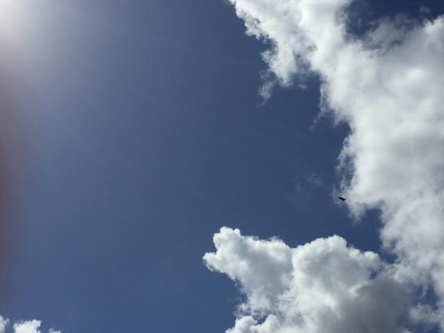 sky at pyramids